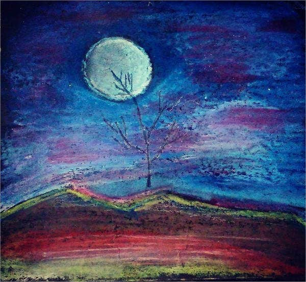 oil-pastel-art-drawing