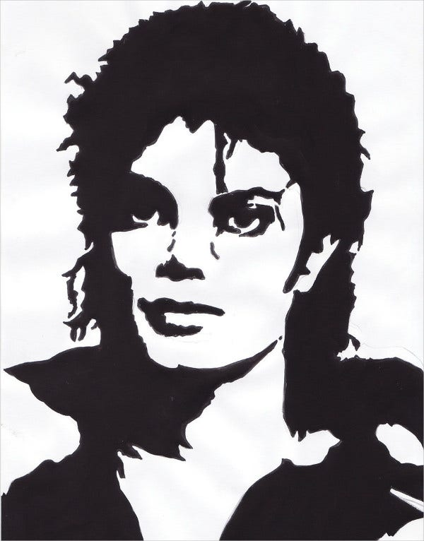 Digital Stencil Artwork