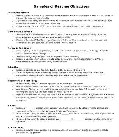 Professional Resume Examples - 8+ Free Word, Pdf Documents