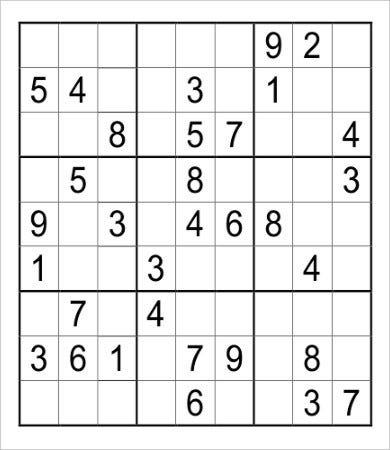 picture relating to Krazydad Printable Sudoku known as Cost-free printable sudoku puzzles for grownups