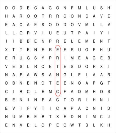 printable word search puzzles