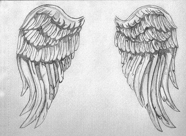 angel-wings-drawing