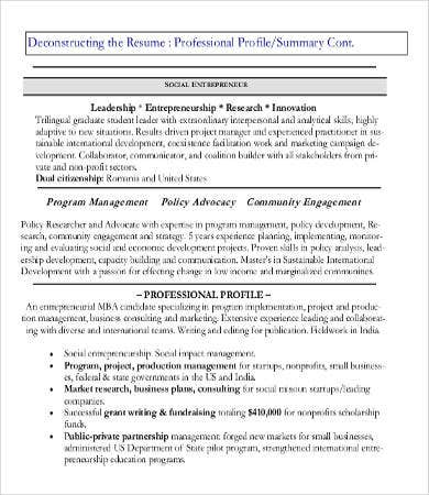 professional resume exles 8 free word pdf documents