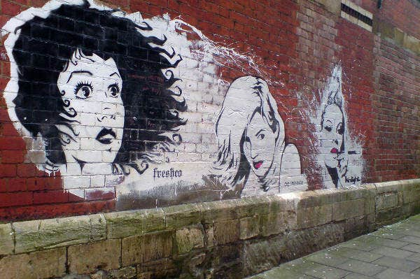 Awesome Graffiti Stencils