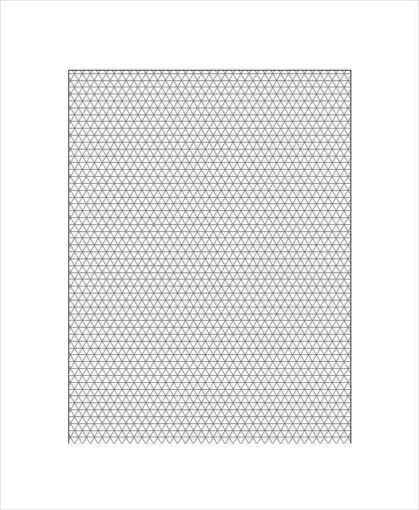 Printable Graph Paper Templates 9 Free PDF Format Download – Graph Paper Templates
