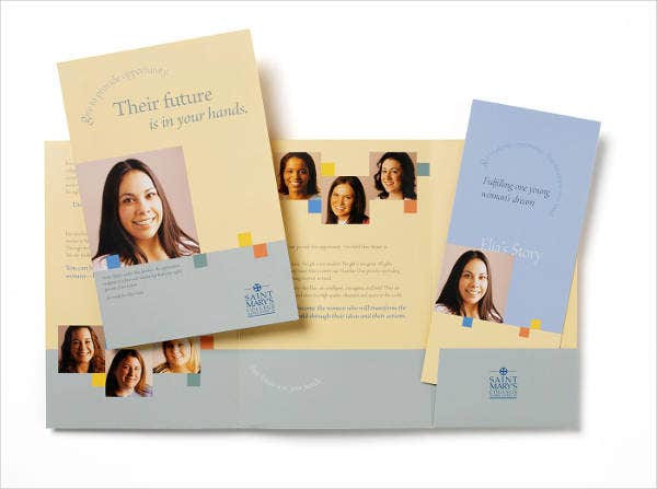 college-fundraising-brochure-template
