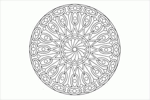 free printable mandala coloring page for adults1