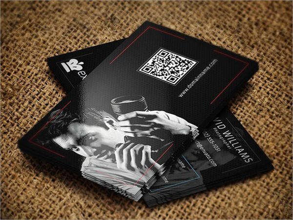 Printable Photography Business Card Template