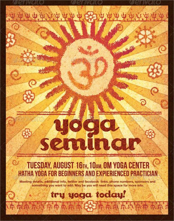 yoga-seminar-organic-poster