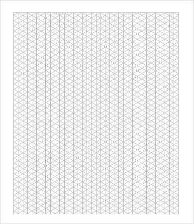 Printable Isometric Grid Paper