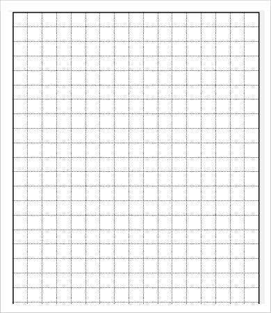 Printable Square Grid Paper Template