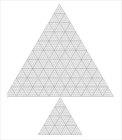 Triangular Grid Graph Paper