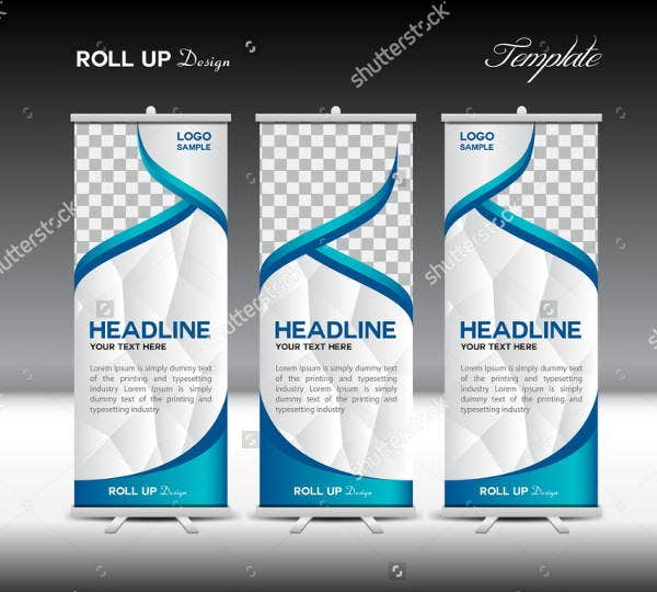 blue-roll-up-banner-template