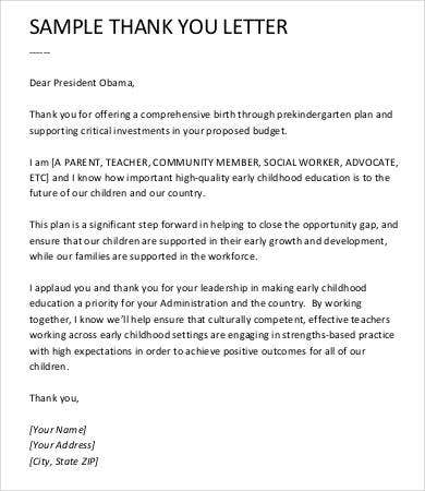 Perfect Teacher Thank You Letter Free Sample Example Format Free