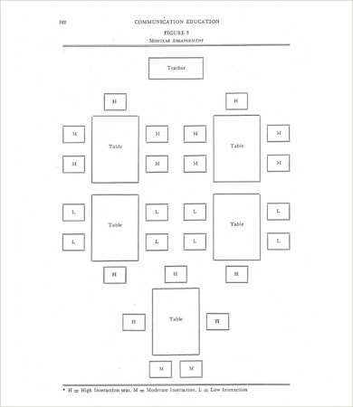 Teacher Seating Chart Template  Free Word Pdf Documents