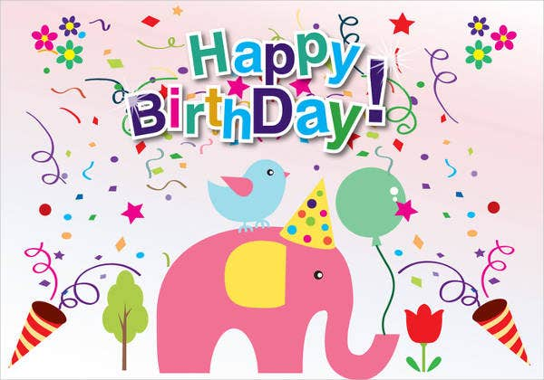 9Free Printable Cards – Birthday Cards to Print out for Free