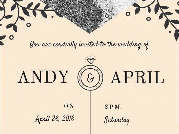 free wedding email invitation1