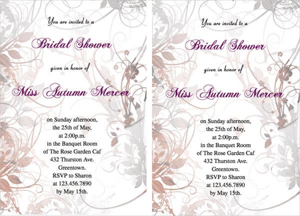 free email bridal shower invitation1