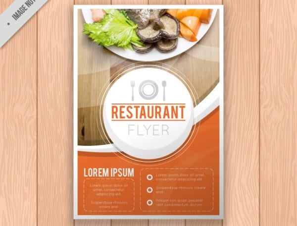 Free Restaurant Brochure Template