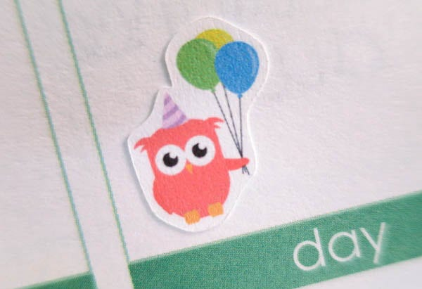 Funny Birthday Sticker