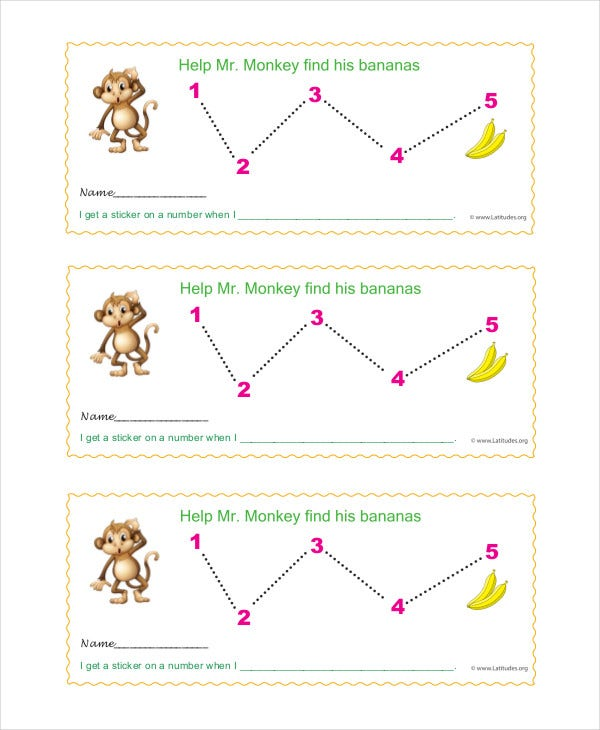 daily behavior chart template for teachers