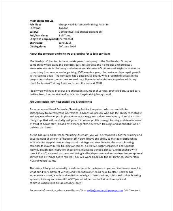 Hr Director Job Description. Human Resources Resume Summary Hr ...