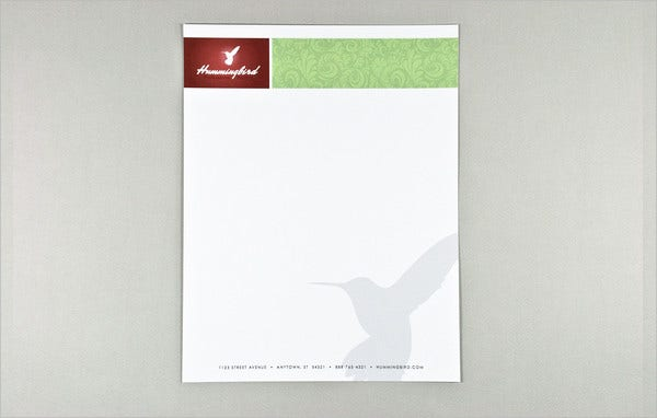 Company Business Letterhead