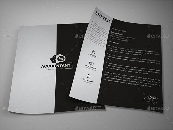 Modern Business Letterhead