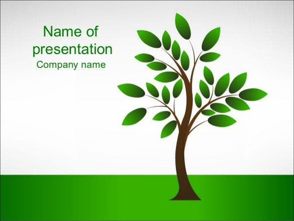 tree-powerpoint-template