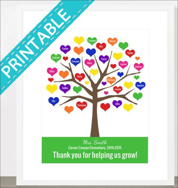 printable-tree-template
