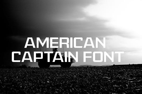 Military Army Font