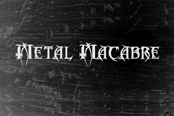 Metallica Style Font