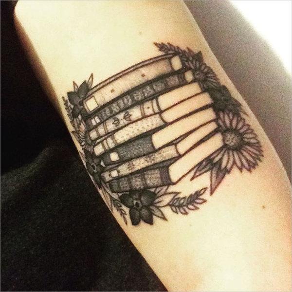 Literary Book Tattoo