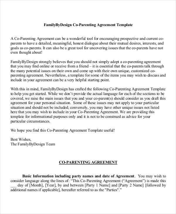 Parenting Plan Template Fundraising Plan Template Sample