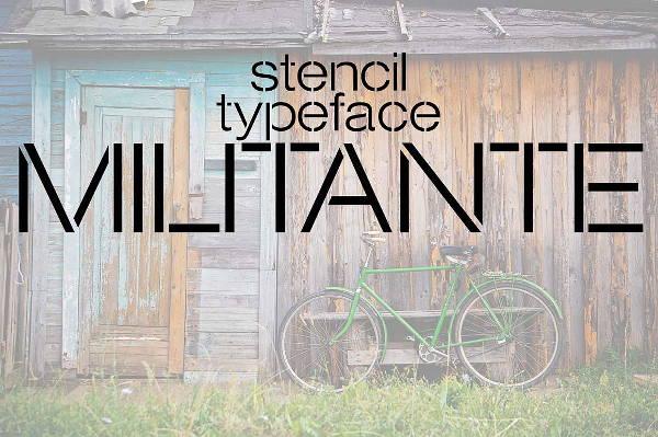 military-stencil-font