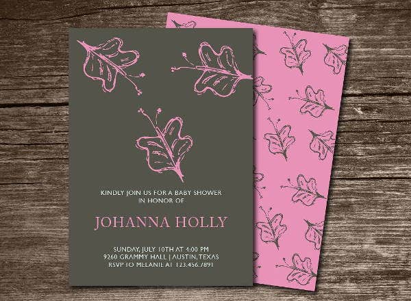 butterfly baby shower invitation template2