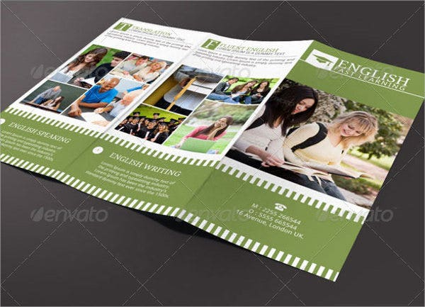English Teacher Brochure