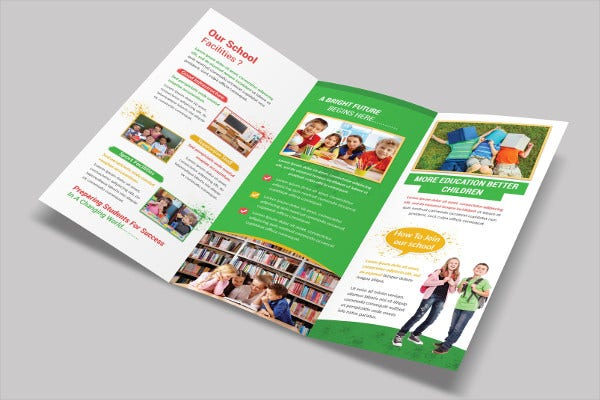 Teacher Tri Fold Brochure Template