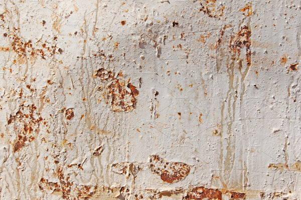 white metal rust texture