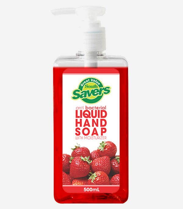 Liquid Soap Label Template