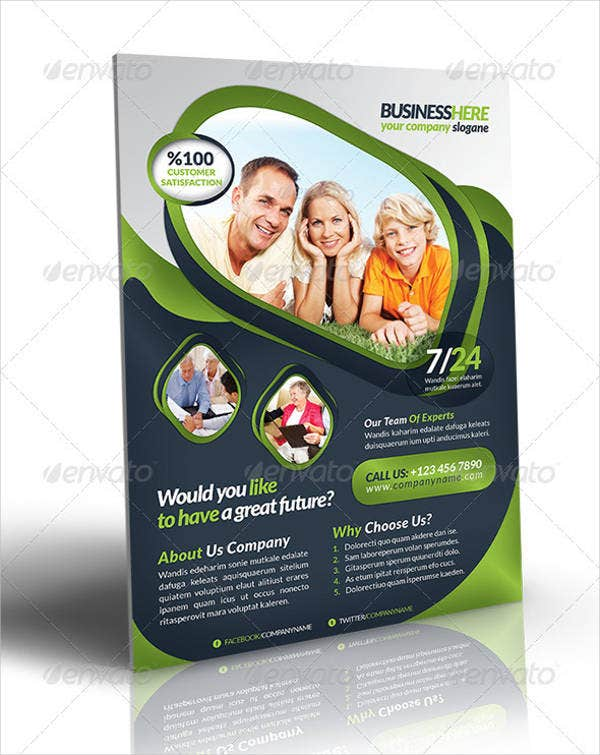 Retirement Business Flyer Template