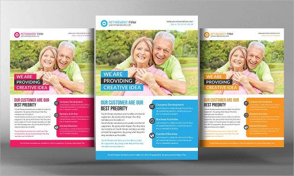 Retirement Medical Flyer Template