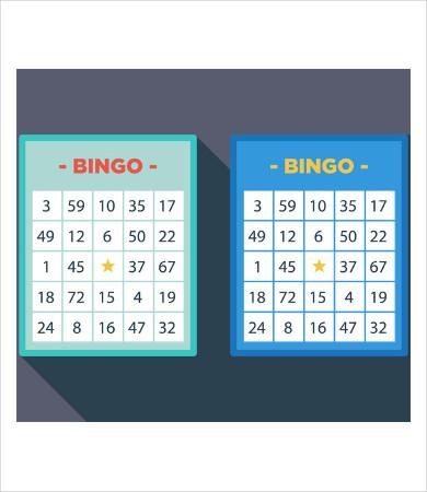 bingo playing card template