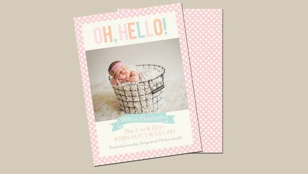 birth announcement template1