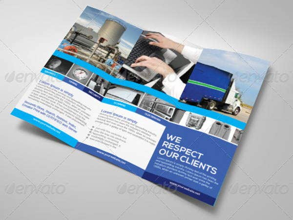 recycling-company-brochure