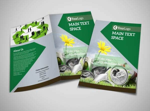 Recycling Program Brochure Template