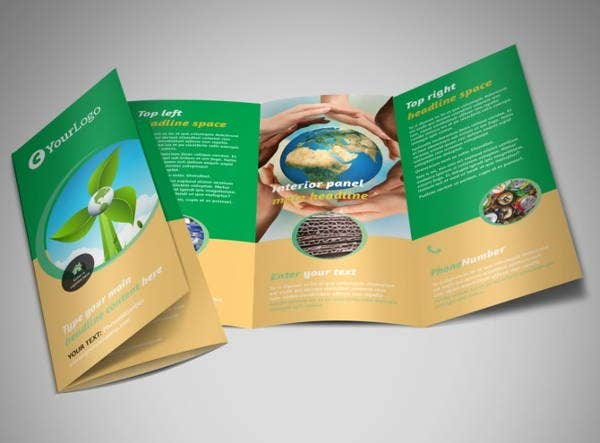 recycling-trifold-brochure