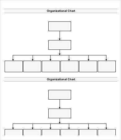organizational chart template doc - organization chart template 10 free word pdf documents