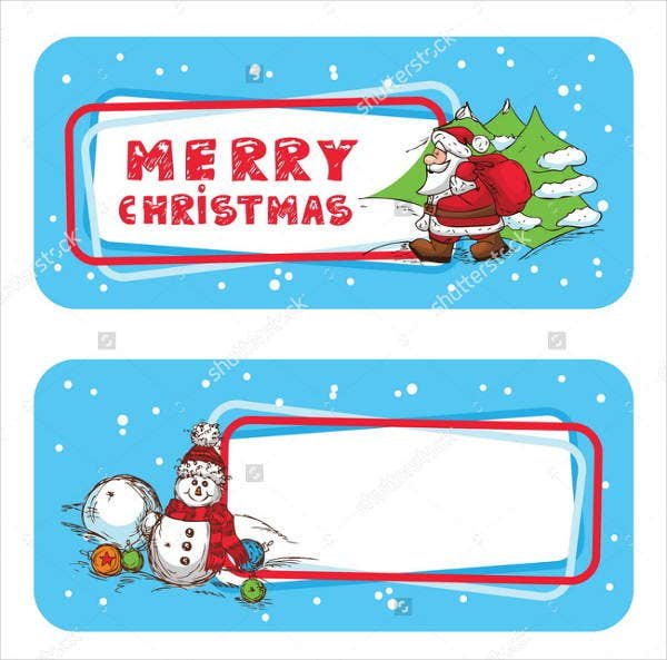 Printable Christmas Address Label