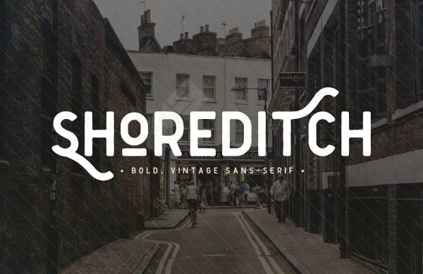 vintage sans serif font